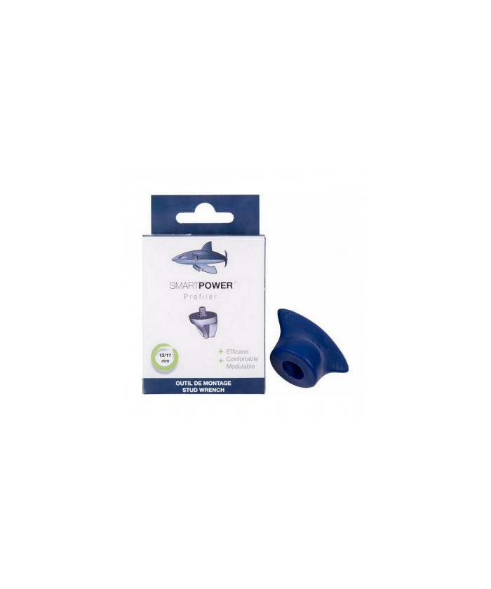 Clé pour crampons 13 / 11 mm Profiler Smart Power bleu