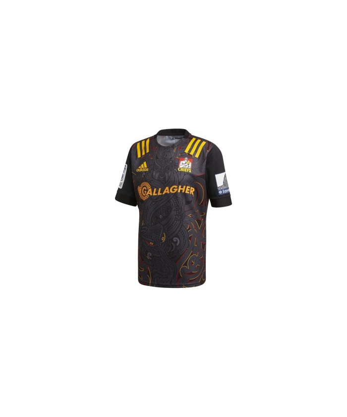 maillot chief super15 PE20 NOIR/ORCOLL