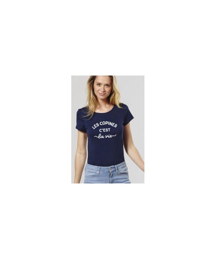T-Shirt femme Les copines c'est la vie