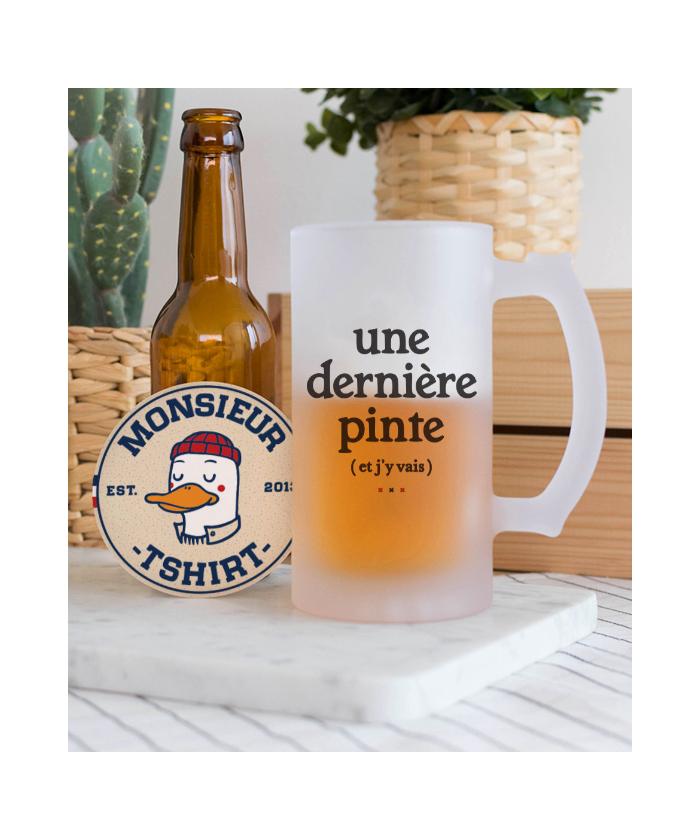 Chope de bière Une dernière...