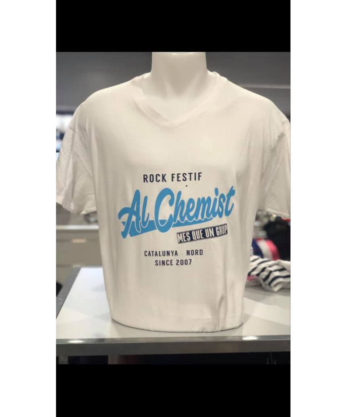 Tee-shirt blanc Al chemist