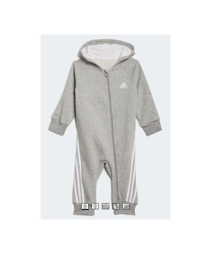 Grenouillère grise Adidas