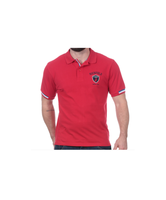 POLO ENFANt RUCKFIELD ROUGE