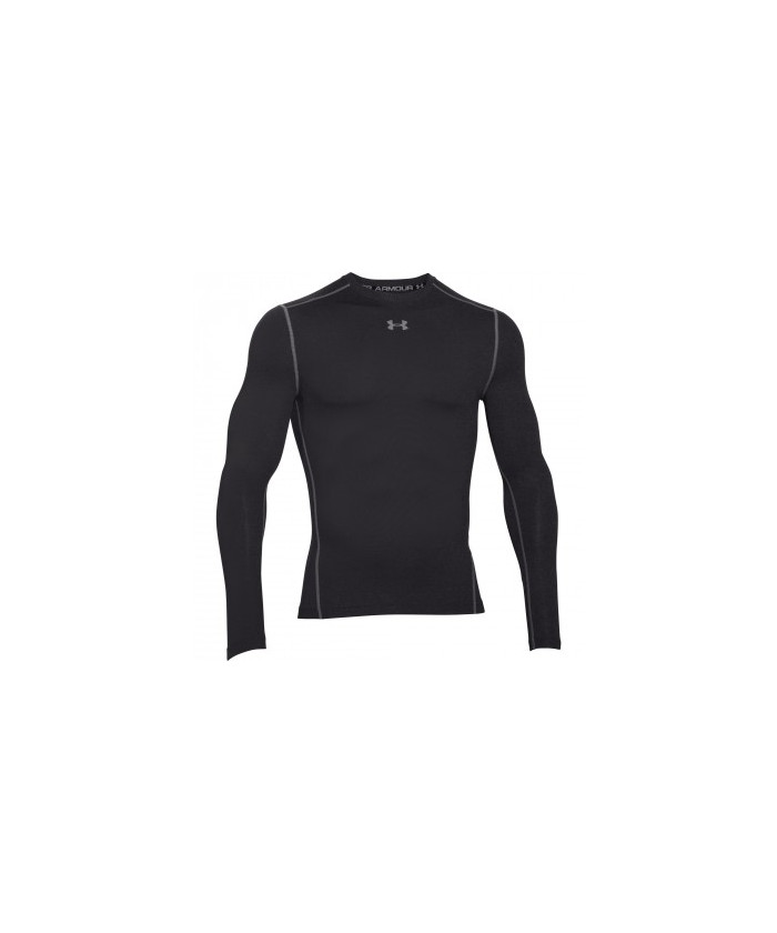 Tee shirt Crew Armour Compression ColdGear® LS Under Armour noir