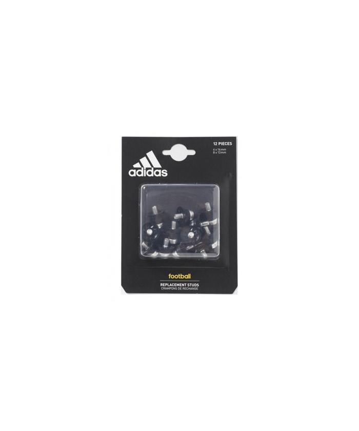 Crampons x 12 aluminium World Cup (4x16 et 8x13 mm) Adidas