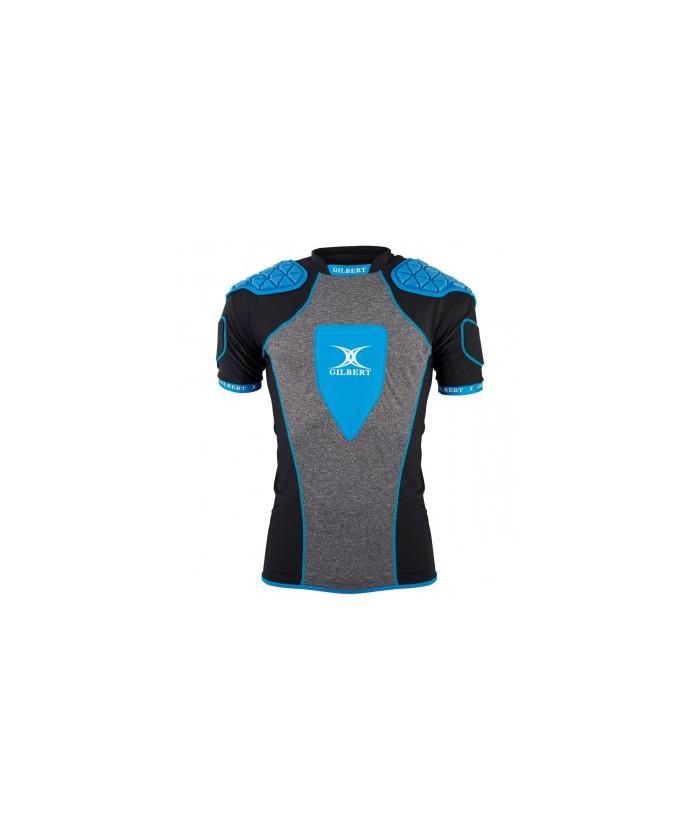 Epauliere rugby Triflex XP3 Gilbert noir bleu gris