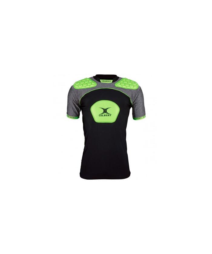 Epauliere rugby Atomic V3 Gilbert noir vert
